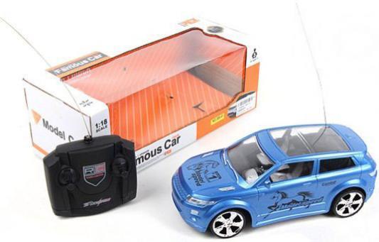 Машинка на радиоуправлении Shantou Gepai Famous Car пластик от 3 лет синий 389-42