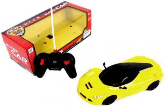 Машинка на радиоуправлении Shantou Gepai Суперкар, 4 канала пластик от 3 лет желтый 567-A6 машинка на радиоуправлении shantou gepai super car 4 канала оранжевый от 6 лет пластик 567 a5