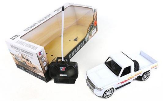 Машинка на радиоуправлении Shantou Gepai 637199 пластик, металл от 3 лет белый машинка на радиоуправлении shantou gepai chevrolet camaro красный от 3 лет пластик 1623 2a