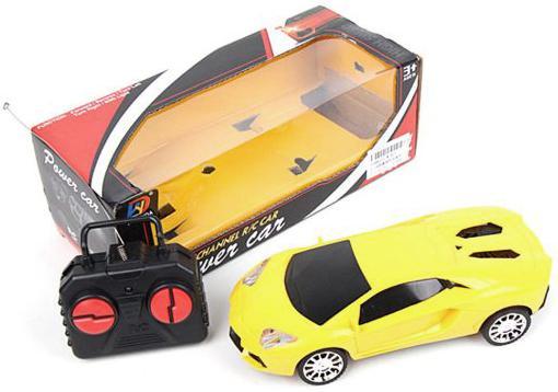 Машинка на радиоуправлении Shantou Gepai Гоночная, 4 канала пластик от 3 лет желтый W-821 dickie кран 100 см на д у 3462411