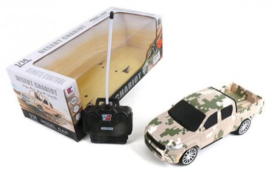 Фото - Машинка на радиоуправлении Shantou Gepai 637201 пластик, металл от 3 лет камуфляж авто