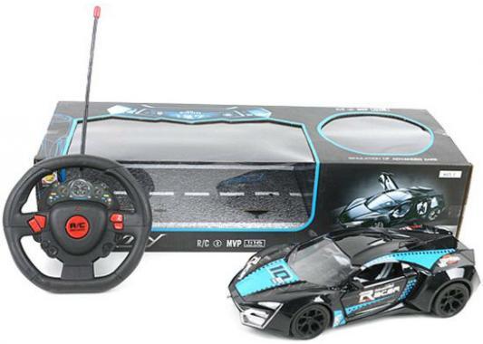 Машинка на радиоуправлении Shantou Gepai Racer, 4 канала пластик от 5 лет черный 168-11 shantou машина на радиоуправлении 1 28 4 канала 6138k gepai