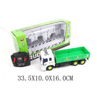 Машинка на радиоуправлении Shantou Gepai Бортовой грузови пластик, металл от 6 лет зелёный