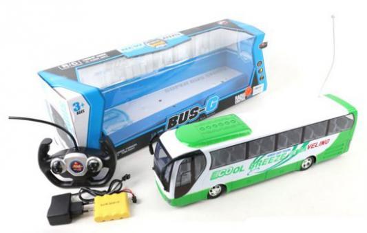 Машинка на радиоуправлении Shantou Gepai Автобус 637049 пластик от 3 лет разноцветный машинка на радиоуправлении shantou gepai гонка пластик от 3 лет разноцветный