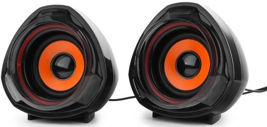 Колонки Gembird SPK-105 2х2.5 Вт черный gembird wcs 21 колонки
