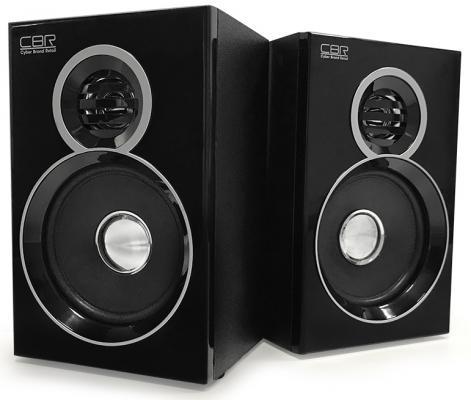 Колонки CBR CMS 660 2x3 Вт черный колонки cbr cms 295 2x3 вт черный