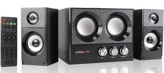 Колонки Crown CMBS-161 2x4Вт + 8Вт черный