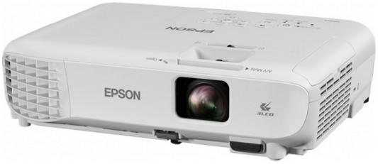 Проектор Epson EB-S05 800x600 3200 люмен 15000:1 белый V11H838040 проектор epson eb s6 пульт