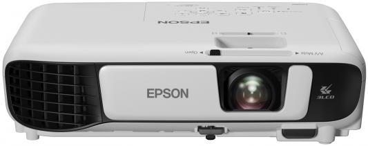Проектор Epson EB-S41 800x600 3300 люмен 15000:1 белый V11H842040 проектор epson eb s41