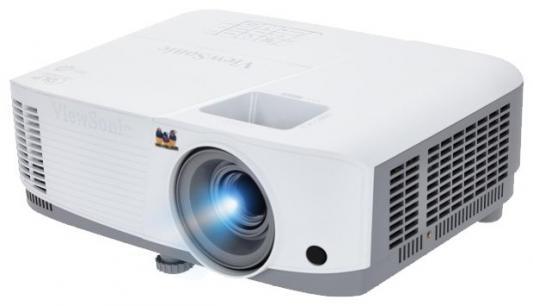 Проектор ViewSonic PA503X 1024x768 3600 люмен 22000:1 белый серый проектор viewsonic pjd7828hdl 1920х1080 3200 люмен 22000 1 белый