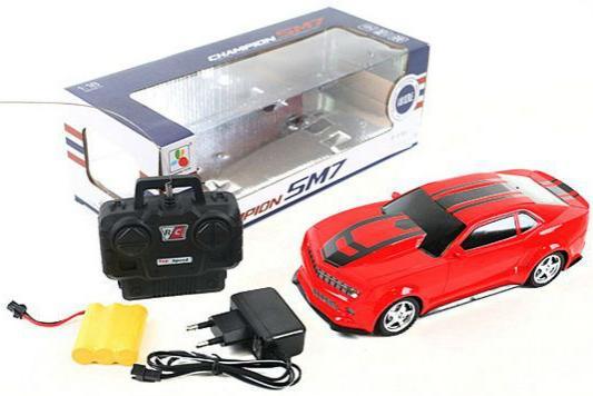 Машинка на радиоуправлении Shantou Gepai Chevrolet Camaro пластик от 3 лет красный 1623-2A машинка на радиоуправлении shantou gepai chevrolet camaro красный от 3 лет пластик 1623 2a