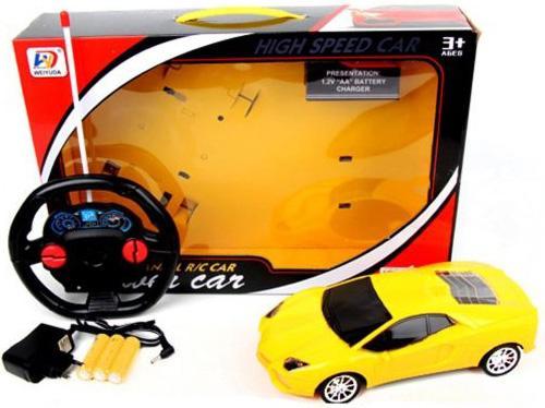 Машинка на радиоуправлении Shantou Gepai Power Car пластик от 3 лет цвет в ассортименте W-840 мотоцикл на радиоуправлении shantou gepai мотоцикл пластик от 3 лет цвет в ассортименте