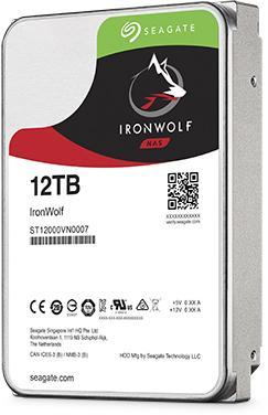 "Жесткий диск 3.5"" 12 Tb 7200rpm 256Mb cache Seagate Ironwolf SATAIII ST12000VN0007"