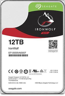 "Жесткий диск 3.5"" 12 Tb 7200rpm 256Mb cache Seagate Ironwolf SATAIII ST12000VN0007 от 123.ru"