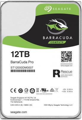 "Жесткий диск 3.5"" 12 Tb 7200rpm 256Mb cache Seagate Barracuda Pro SATAIII ST12000DM0007"