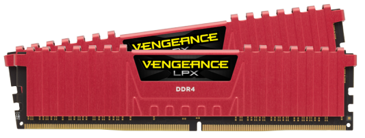 Оперативная память 32Gb (2x16Gb) PC4-24000 3000MHz DDR4 DIMM CL15 Corsair Vengeance LPX (CMK32GX4M2B3000C15R) модуль памяти dimm 32gb 2х16gb ddr4 pc24000 3000mhz corsair vengeance black heat spreader custom performance pcb rgb led xmp 2 0 cmr32gx4m2d3000c16