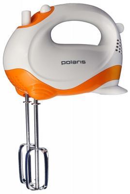 цена на Миксер ручной Polaris PHM 2010 150 Вт белый оранжевый