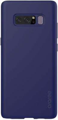 Чехол Samsung для Samsung Galaxy Note 8 araree Airfit синий GP-N950KDCPAAF чехол клип кейс samsung protective standing cover great для samsung galaxy note 8 темно синий [ef rn950cnegru]