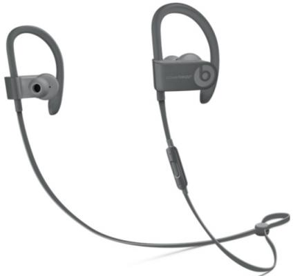 Гарнитура Apple Beats Powerbeats 3 MPXM2ZE/A серый гарнитура beats powerbeats 3 wl red mnly2ze a