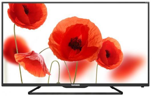 Телевизор Telefunken TF-LED55S37T2SU черный телевизор telefunken tf led24s41t2 черный