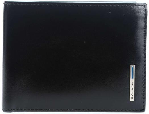 Кошелек мужской Piquadro Blue Square кожа черный PU257B2R/N