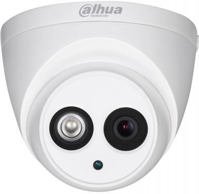 Видеокамера IP Dahua DH-HAC-HDW1100EMP-A-0280B-S3 2.8-2.8мм цветная корп.:белый