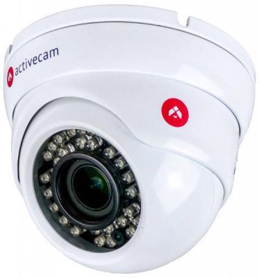 Видеокамера IP ActiveCam AC-D8123ZIR3 2.8-12мм цветная корп.:белый видеокамера ip activecam ac d2121wdir3 1 9 мм белый