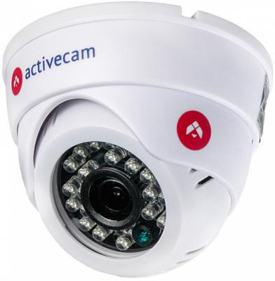 Камера IP ActiveCam AC-D8121IR2W CMOS 1/2.9 3.6 мм 1920 x 1080 H.264 Wi-Fi белый ip камера activecam ac d8101ir2