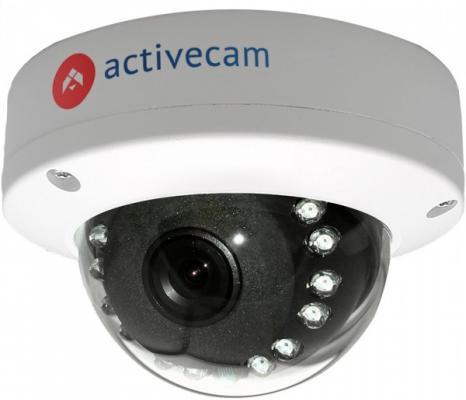 """Видеокамера ActiveCam AC-D3121IR1 CMOS 1/2.7"""" 3.6 мм 1920 x 1080 H.264 — PoE белый"""