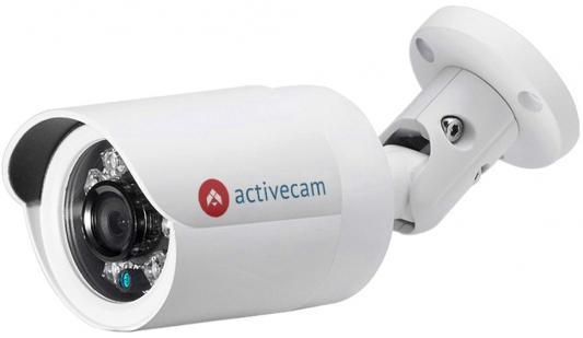 Камера IP ActiveCam AC-D2121WDIR3 CMOS 1/2.7 2.8 мм 1920 x 1080 H.264 RJ-45 LAN белый видеокамера ip activecam ac d2121wdir3 1 9 мм белый