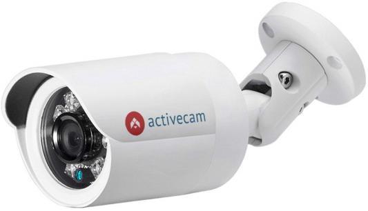 Видеокамера IP ActiveCam AC-D2121IR3 2.8-2.8мм цветная корп.:белый видеокамера ip activecam ac d2121wdir3 1 9 мм белый