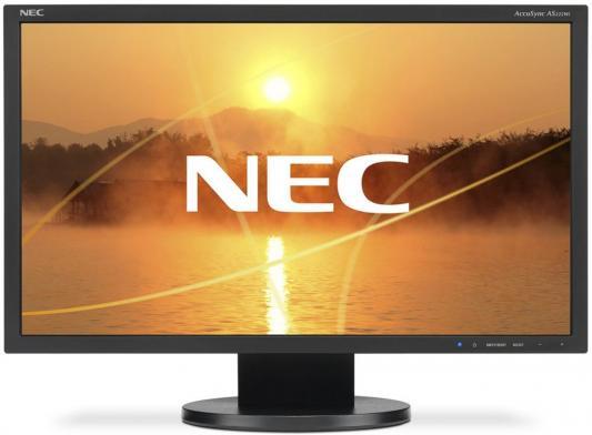Монитор 22 NEC AS222Wi-BK монитор nec 30 еа305wmi черный ea305wmi bk