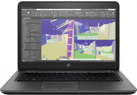 Ноутбук HP Zbook 14u (1RQ68EA) ноутбук hp zbook 15 g3 t7v53ea t7v53ea