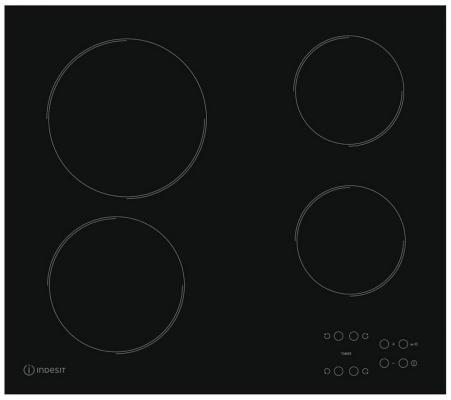 Варочная панель электрическая Indesit RI 161 C черный варочная панель электрическая indesit ri 161 c