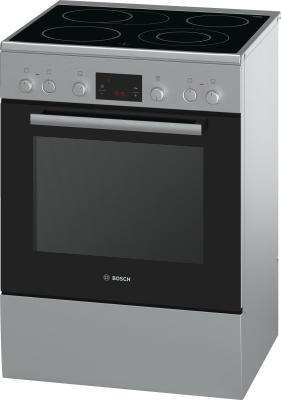 Электрическая плита Bosch HCA644150R серебристый