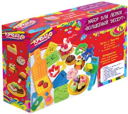 Набор для лепки Креатто Волшебный десерт 30417 4 цвета