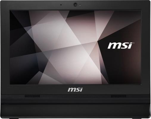 "Моноблок 15.6"" MSI Pro 16T 7M-013 1366 x 768 Touch screen Intel Celeron-3865U 4Gb 500Gb Intel HD Graphics 610 Windows 10 Home черный 9S6-A61611-013"