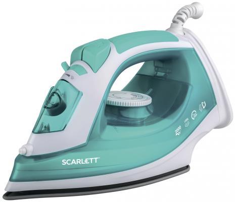 Утюг Scarlett SC-SI30P09 2000Вт белый бирюзовый утюг scarlett sc 135s