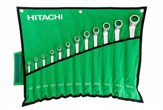 Набор гаечных ключей Hitachi HTC-774019 12шт набор инструмента hitachi 774019