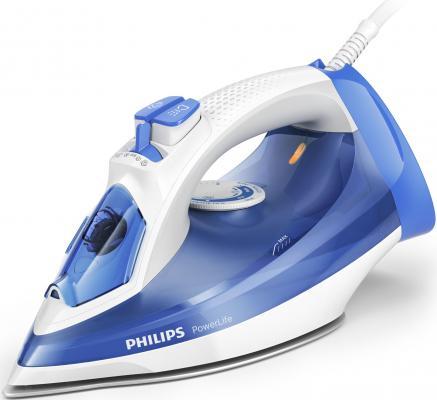 лучшая цена Утюг Philips GC2990/20 2300Вт синий белый