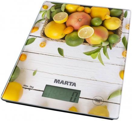 Весы кухонные Marta MT-1634 рисунок