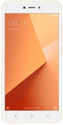 Смартфон Xiaomi Redmi Note 5A золотистый 5.5 16 Гб LTE Wi-Fi GPS 3G Redmi_Note_5A_16GB_Gold смартфон xiaomi redmi note 5a prime серый 5 5 64 гб lte wi fi gps 3g