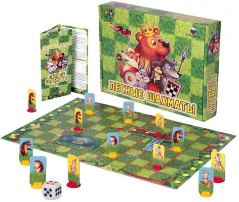 Настольная игра Биплант логическая Лесные шахматы настольные игры биплант настольная игра классики 10032