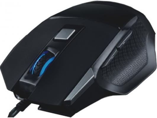 Мышь проводная Qcyber QC-02-005DV01 чёрный USB