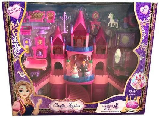 """Замок для кукол Shantou Gepai """"Моя мечта"""" 21 предмет"""