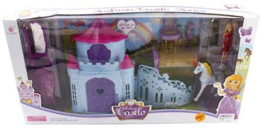 Купить Замок для кукол Shantou Gepai Fashion Castle 8 предметов, для девочки, Домики и аксессуары