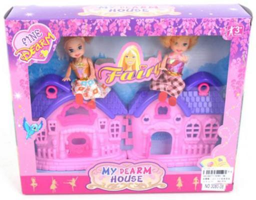 """Игровой набор Shantou Gepai """"My Dream House"""" 3 предмета"""