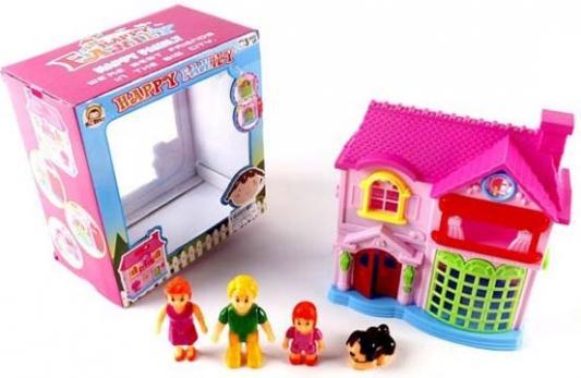 """Дом для кукол Shantou Gepai """"Моя семья"""" 5 предметов"""