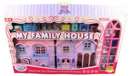 """Игровой набор Shantou Gepai """"Дом моей семьи"""" 29 предметов"""