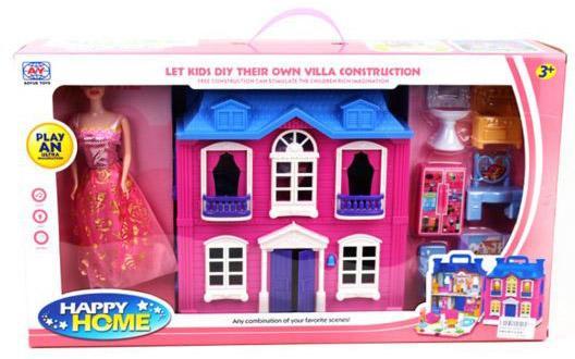 """Игровой набор Shantou Gepai """"Happy Home"""" 15 предметов"""